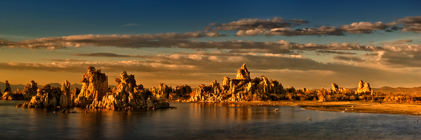 Monolake at Sunset