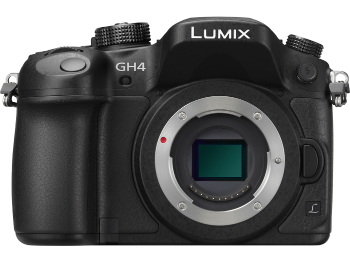 Panasonic Lumix GH4 (image courtesy Panasonic)