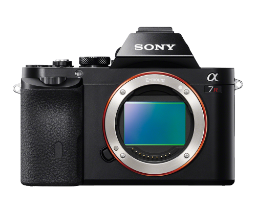 Sony A7R (image courtesy Sony)