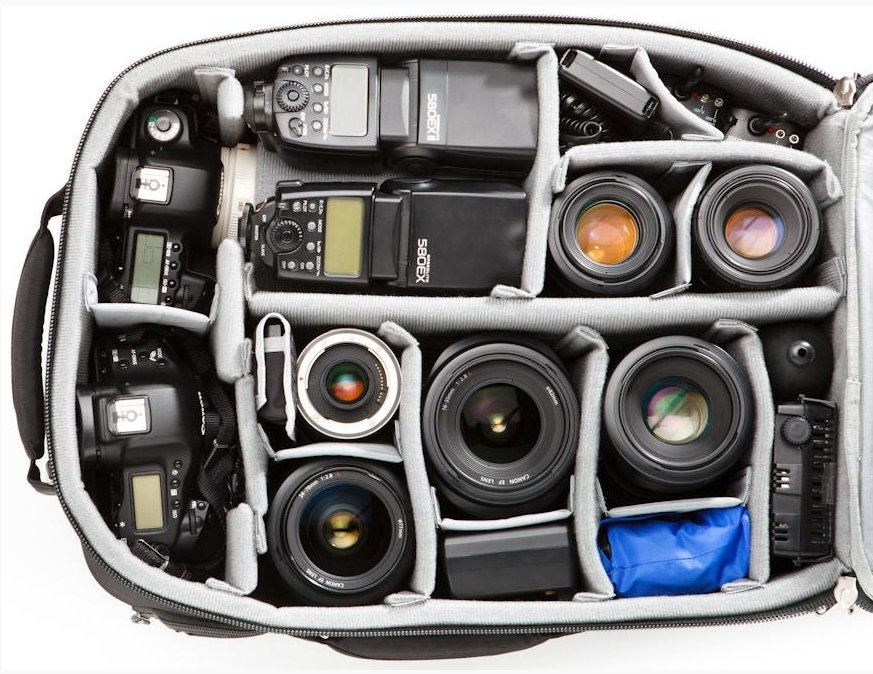 Airport Accelerator Commuter Bag with Canon Gear