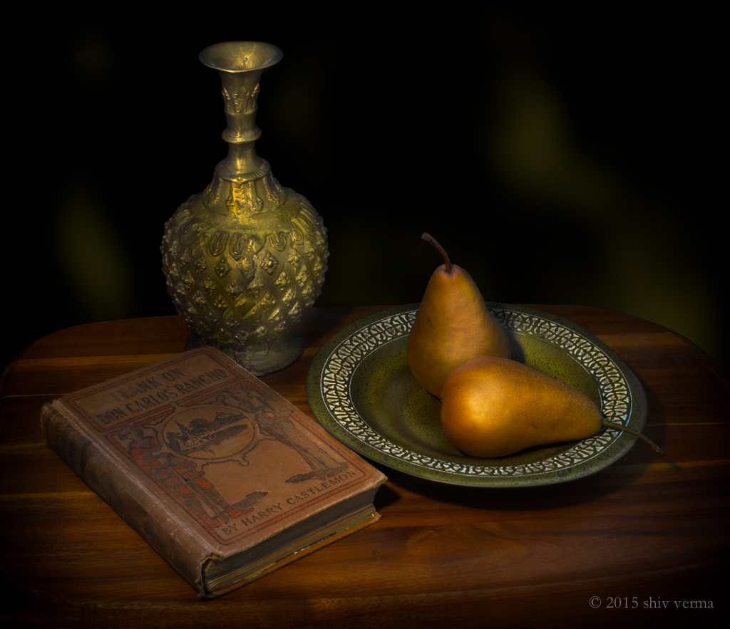Pears on Brass