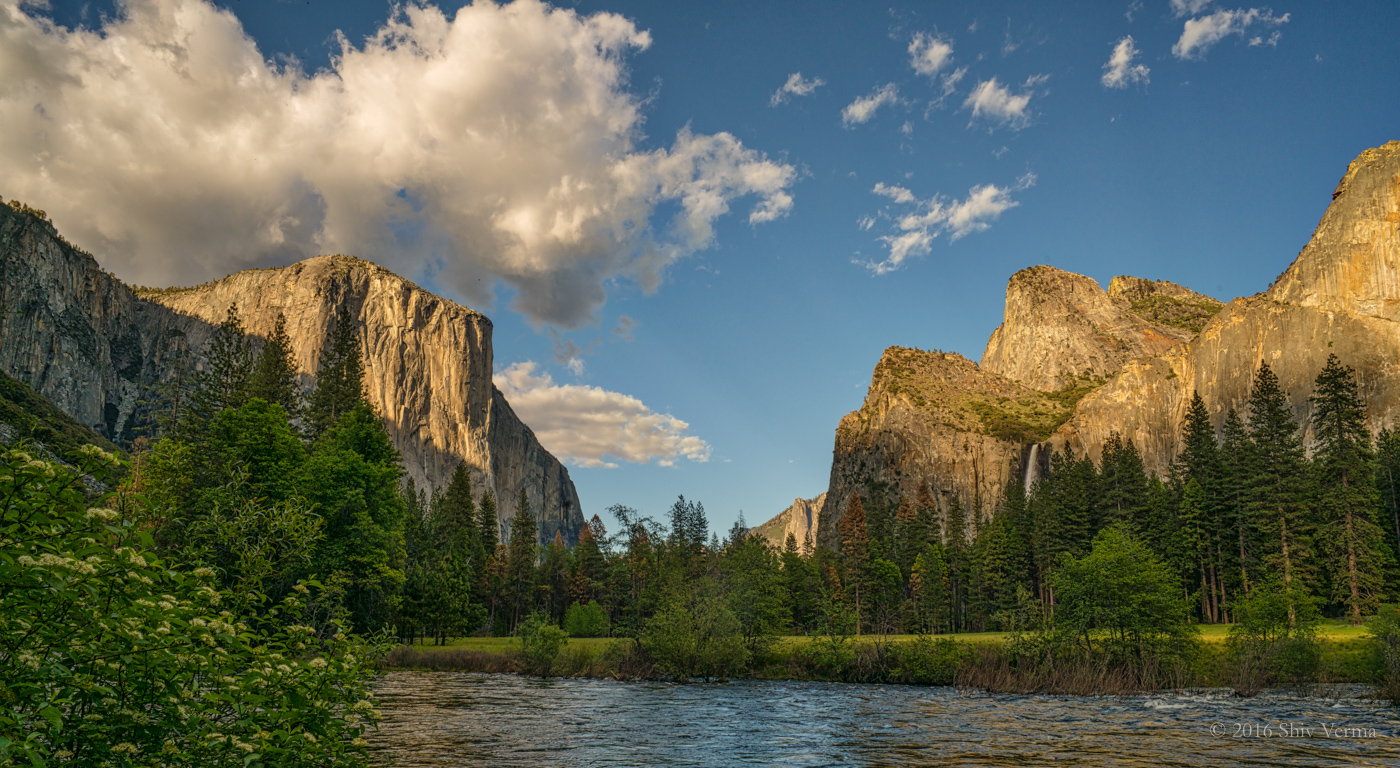 El Capitan and the Valley from the Merced River