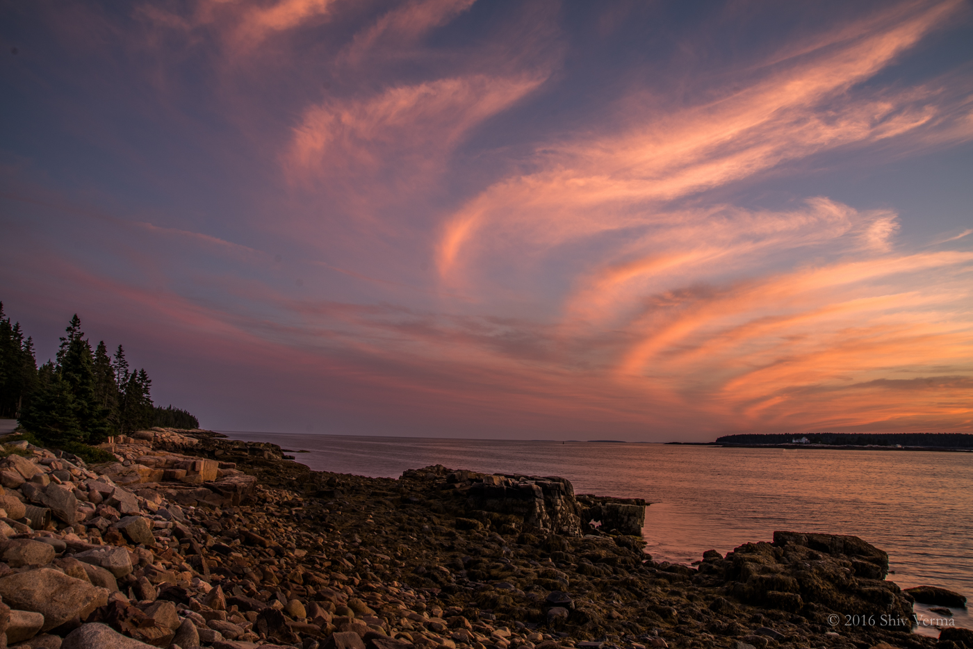 Sunset - Schoodic Peninsula