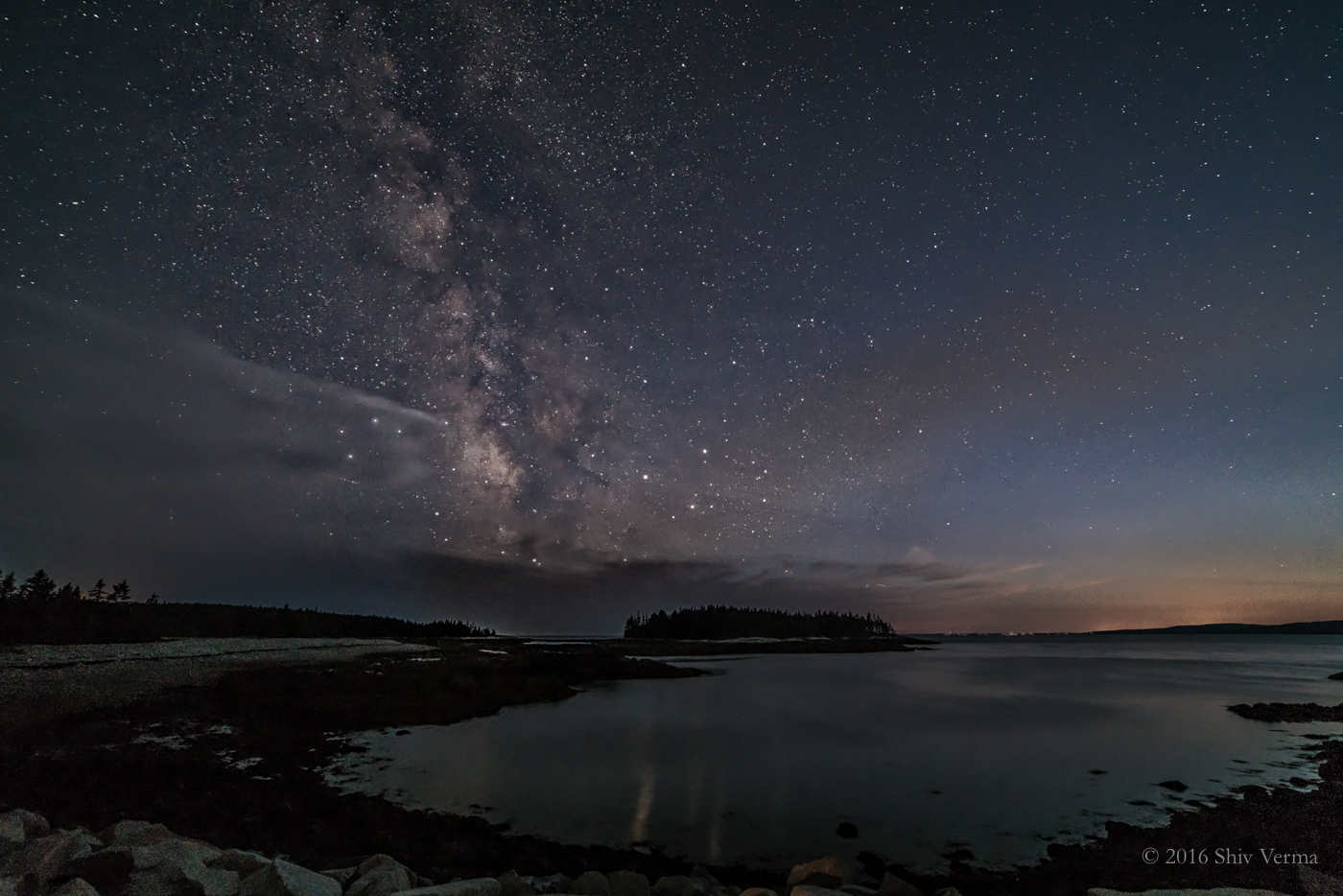 Milky Way - Schoodic Peninsula