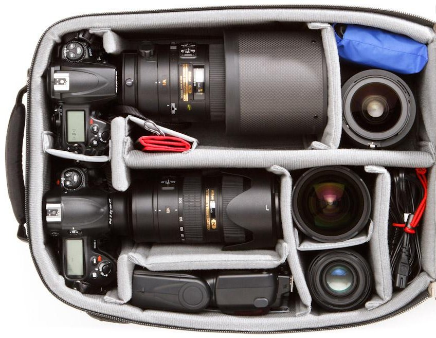 Airport Accelerator Commuter Bag with Nikon Gear