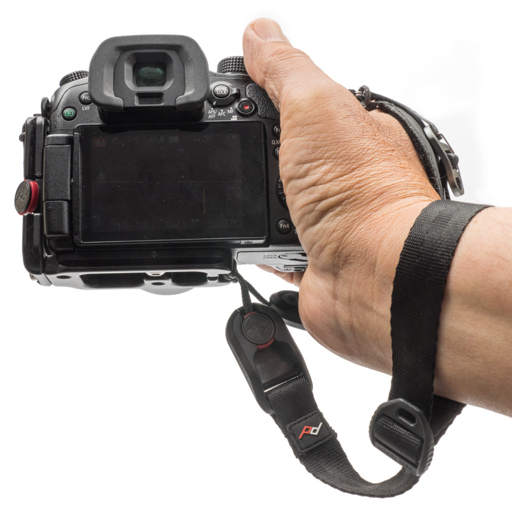 Cuff attached for extra security