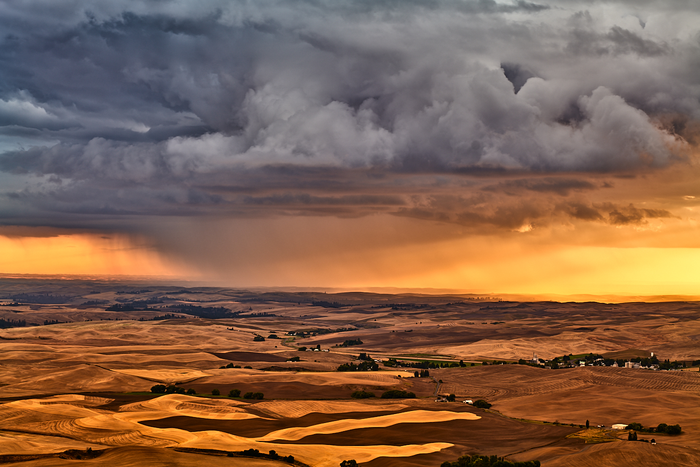 Storm Clouds Over Palouse