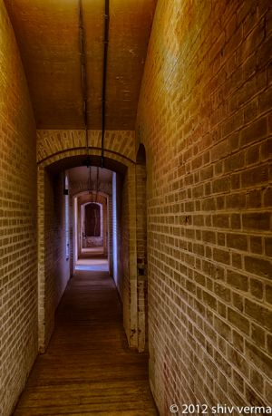 Fort Point - Gun Powder Hallway