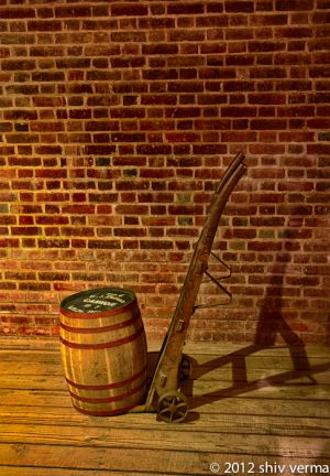 Gun powder Barrel - Fort Point